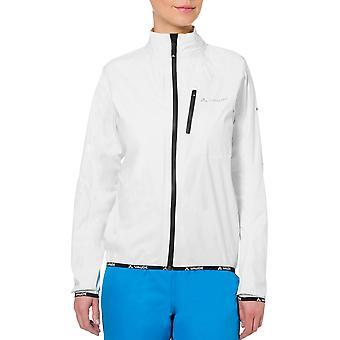 Vaude Women's Drop Biking Rain Jacket III - White