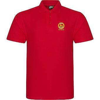 South Wales Borderers Veteran - Licensed British Army Embroidered RTX Polo