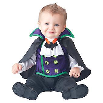 Count Cutie Vampire Dracula Halloween Baby Boys Infant Costume
