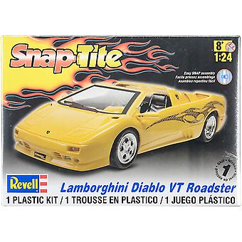 Plastic Model Kit-Lamborghini Diablo VT Roadster 1:24 85-1966