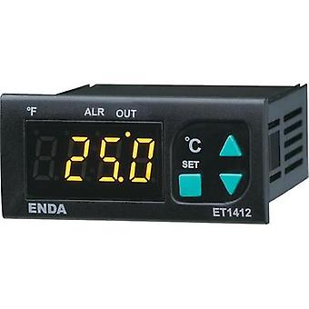 Temperature controller Enda ET1412-NTC NTC -60 up to 150 °C 8 A relay (L x W x H) 71 x 77 x 35 mm