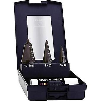 Quick-helix drill bit set 3-piece 3 - 14 mm, 4 - 20 mm, 16 - 30.5 mm HSS