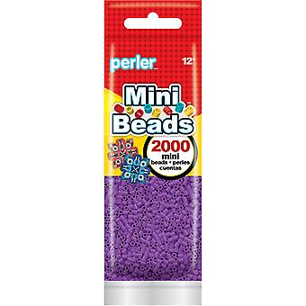 Mini Perler Beads 2000/Pkg-Purple MPB80-14-63