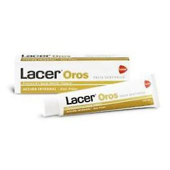 Lacer Pasta Lacer Oros 75 Ml. (Hygiene and health , Dental hygiene , Toothpaste)