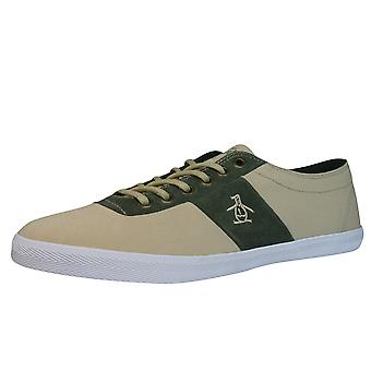 Pinguin Jack Mens Trainers / Schuhe - Beige
