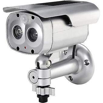 Dummy camera with solar panel, with IR spotlight, with flashing LED 1369246