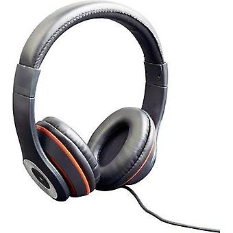 Gembird Los Angeles Hi-Fi Headphones Black