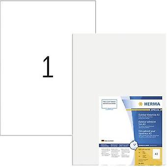 Herma 8695 Labels (A3) 297 x 420 mm PE film White 50 pc(s) Permanent All-purpose labels, Weatherproof labels Laser, Copi