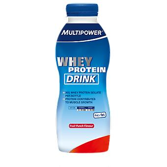 Multipower Whey Protein Drink Fruit Punch (Sport , Białka)