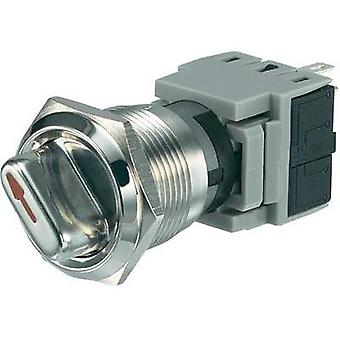 Tamper-proof rotary switch 250 Vac 5 A Switch postions 2 1 x 90 ° Conrad Components LAS1-BGQ-11X/23 IP40 1 pc(s)