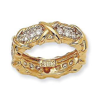 Vermeil Unity Ring - Ring Size: 5 to 8