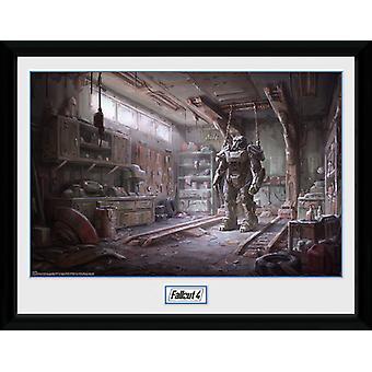 Fallout 4 fusée rouge Collector intérieur Print