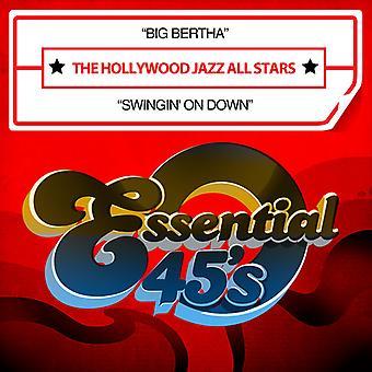 Hollywood Jazz All Stars - Big Bertha / Swingin na dół USA import