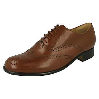 Mens Thomas Blunt Lace-Up Smart Shoes Euston 2