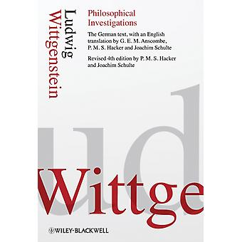 Philosophical Investigations (Hardcover) by Wittgenstein Ludwig