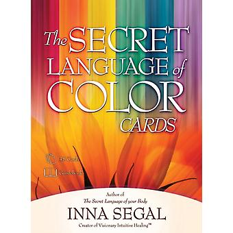 The Secret Language of Color Cards (Cards) by Segal Inna