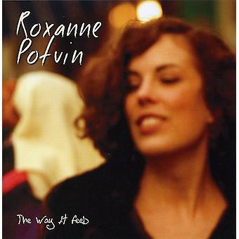 Roxanne Potvin - måde det føles [CD] USA import