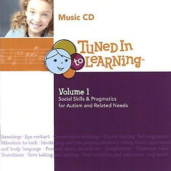 Innstilt på å lære - innstilt på å lære: Vol. 1 - sosiale ferdigheter & pragmatikk for autisme & Re [DVD] USA import
