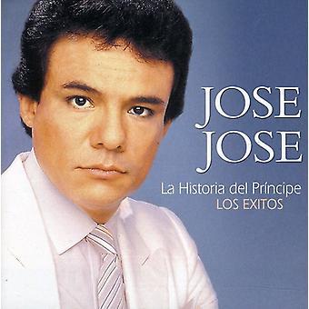 Jose Jose - importación de Estados Unidos de La Historia Del Principe-Los Exitos [CD]