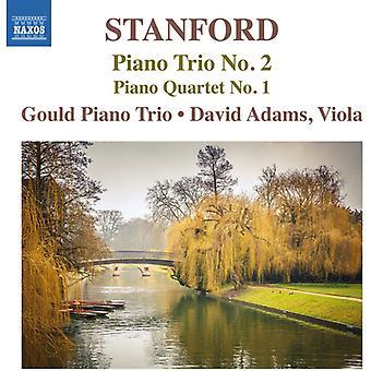 Stanford / Adams / Gould Pno Trio - Pno Trio 2 & Pno Qrt 1 [CD] USA import