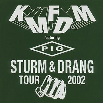KMFDM - importar de USA Sturm & Drang Tour 2002 [CD]