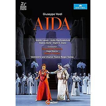 Verdi: Aida [DVD] USA importar