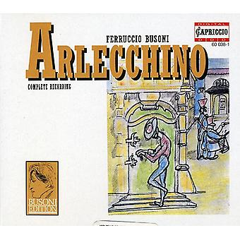 F. Busoni - Busoni: Arlecchino [CD] USA import