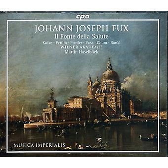 J.J. Fux - Johann Joseph Fux: Il Fonte Della Salute [CD] USA import