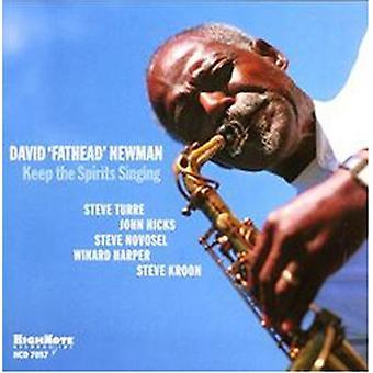 David bredhovedet Newman - holde spiritus sang [CD] USA importen