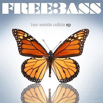 Freebass - to verdener kolliderer [CD] USA import