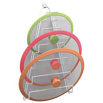 Metaltex Kiwi Saucepan Lid Holder (Home , Kitchen , Storage and pantry , Supports )