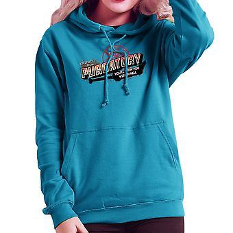 Supernatural Greetings From Purgatory Women's Hooded Sweatshirt