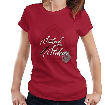Stoked på Stoker hvite kvinner t-skjorte