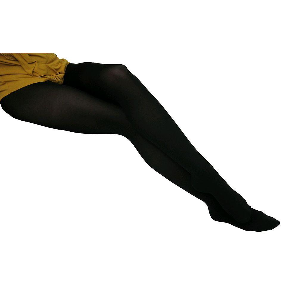 Solidea Selene 70 Opaque Support Tights [Style 023470] Fumo (Dark Grey)  XL