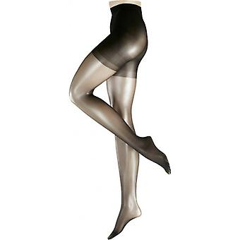 Falke form 20 Denier Transparent formande trosa Matt Tights - svart