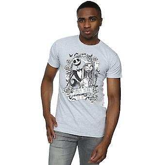 Disney Men's Nightmare Before Christmas Simply Meant To Be T-Shirt