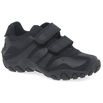 Geox Junior Crush Black Boys Shoe