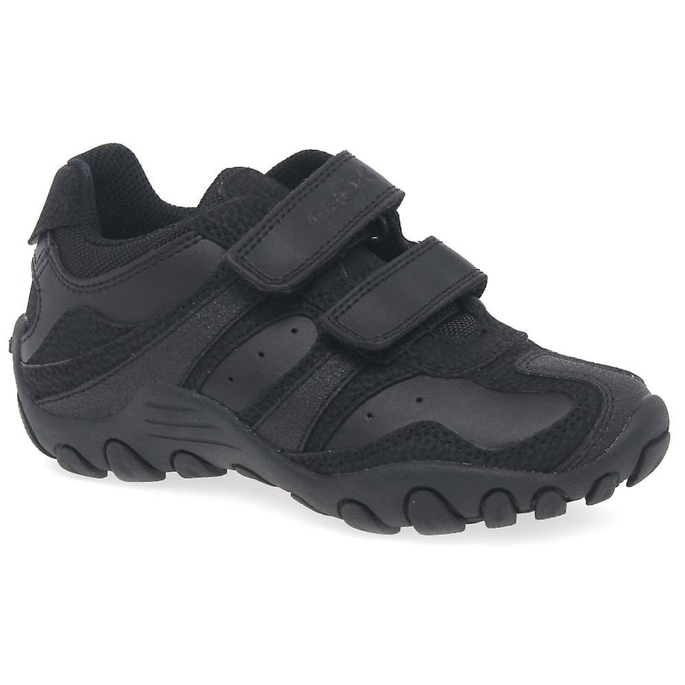 Geox Junior Crush ragazzi neri scarpa | Il Più Economico  | Maschio/Ragazze Scarpa