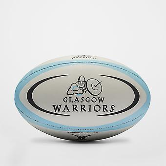 Gilbert Glasgow Krieger Replikat-Rugby-Ball
