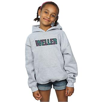 Paul Weller Girls Paisley Logo 1 Hoodie