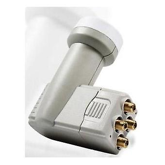 Quad LNB Smart TEQS LNB feed size: 40 mm gold-plated terminals, weatherproof