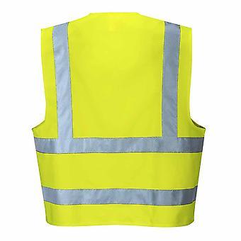 RSU - Hi-Vis sicurezza Workwear due Band & Brace Vest