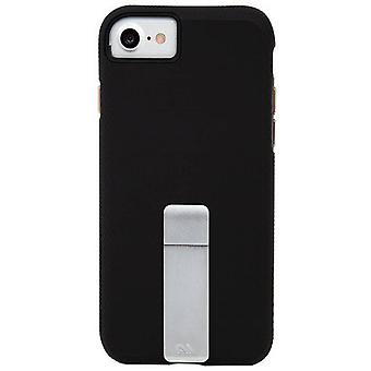 Case-Mate Tough Stand iPhone 8/7/6s/6 Case - Black/Silver