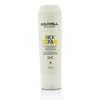 Goldwell Dual zintuigen Rich reparatie herstellen Conditioner (regeneratie voor beschadigd haar) - 200ml/6,7 oz