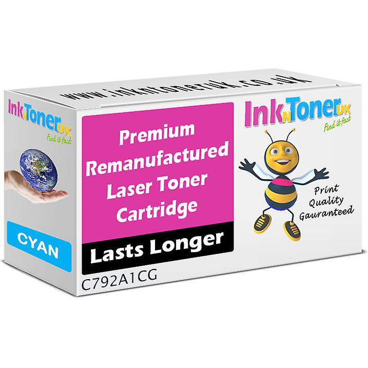 Rehommeufacturouge C792A1CG Cyan Cartridge for Lexmark C792