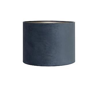 Light & Living Shade Cylinder 20-20-15 Cm VELOURS Dusty Blue