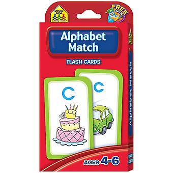 Flash Cards Alphabet Match 52 Pkg Szflc 4021