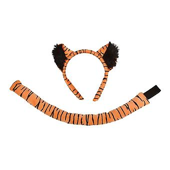 Tiger Set (Ears + Tail)