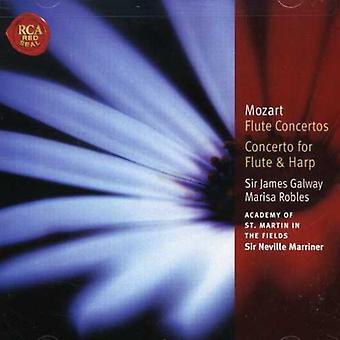 W.a. Mozart - Mozart: Flute Concertos; Concerto for Flute & Harp [CD] USA import