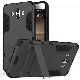 Huawei Mate 10 Armour Kickstand Case - zwart